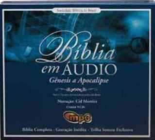 Bíblia - em MP3 completa com Narração de Cid Moreira de Gênesis a Apocalipse