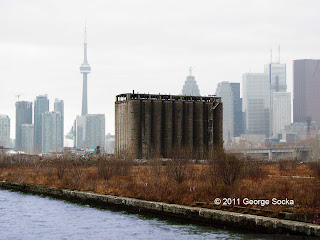 Abandoned Victory Soya Mills Silos in Toronto
