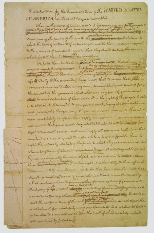 Write Your Own Declaration Of Independence Essay