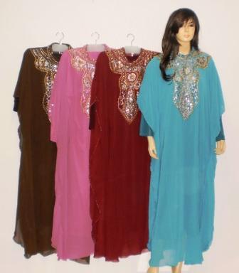 Gamis Payet Gp028 Jumbo Grosir Baju Muslim Murah Tanah Abang