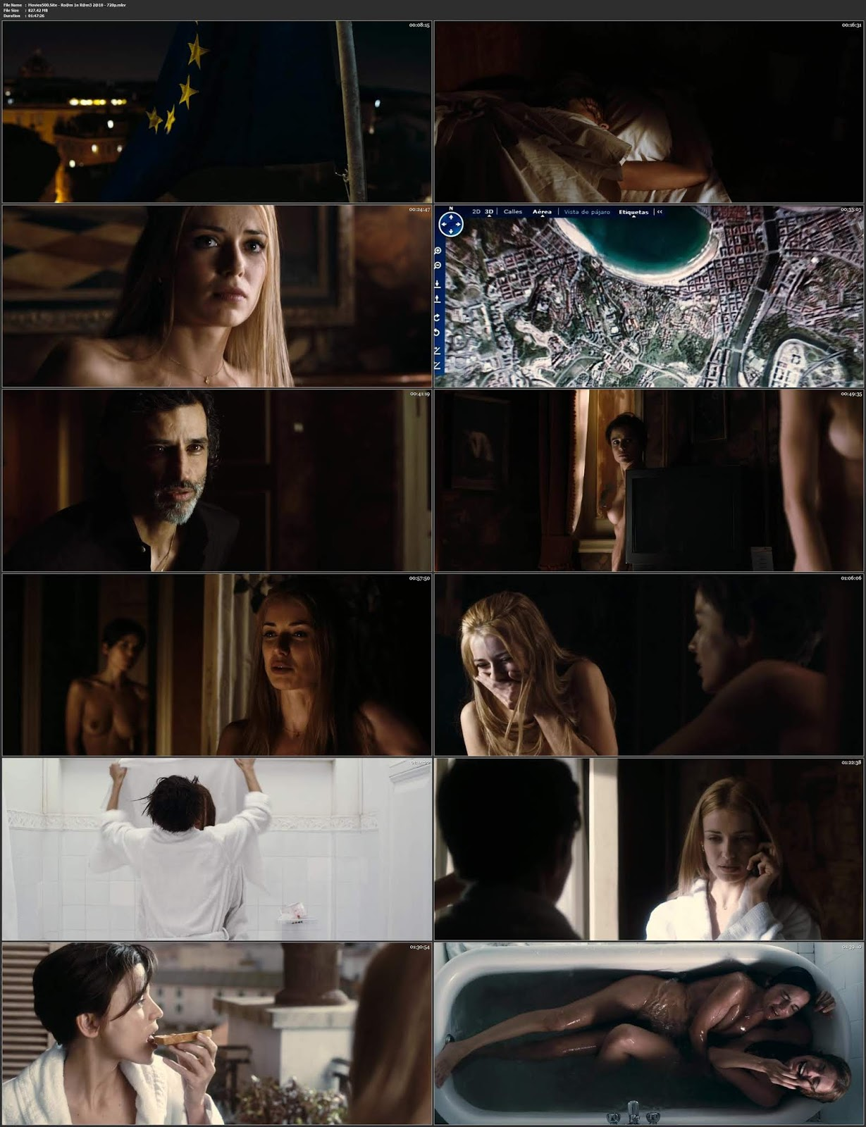18+ Room in Rome 2010 English Full Movie BluRay 720p