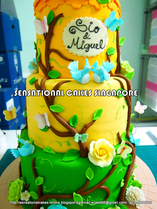 The Sensational Cakes: Enchanted Fairies Fantasy Wedding Cake ...