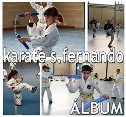 Karate en el colegio San Fernando