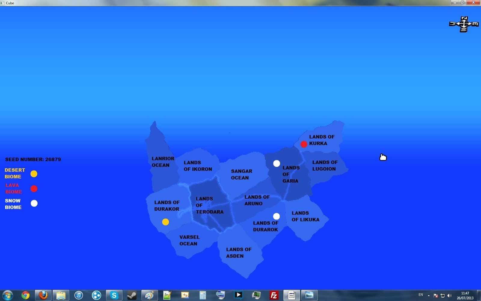 Cube World Map.Sir Terrance Talking Shit Cube World Guide To Seed Number 26879