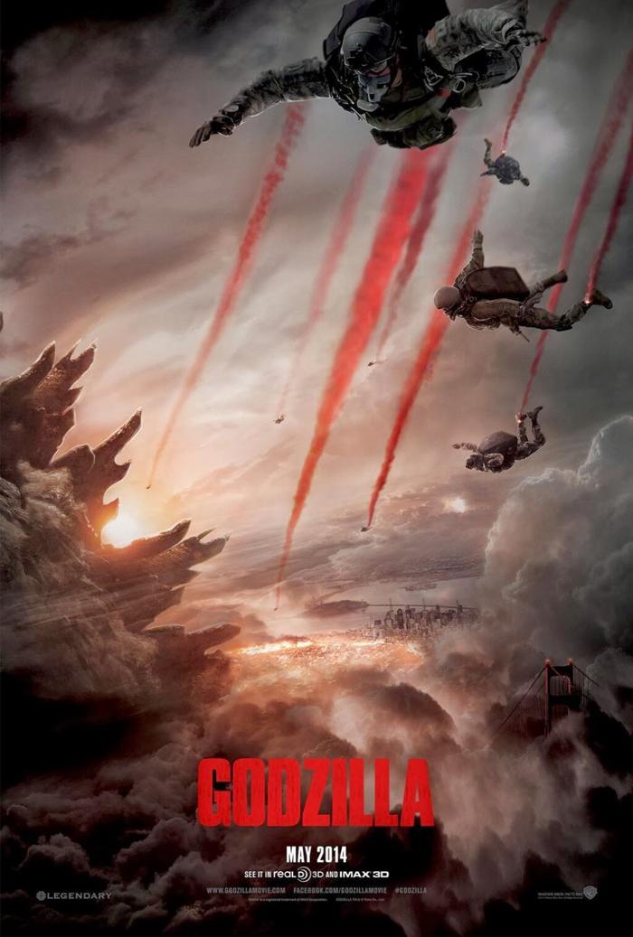 ¡Llega Godzilla!