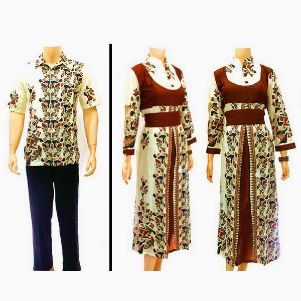 Sarimbit Batik Gamis Solo Kode Sg 461