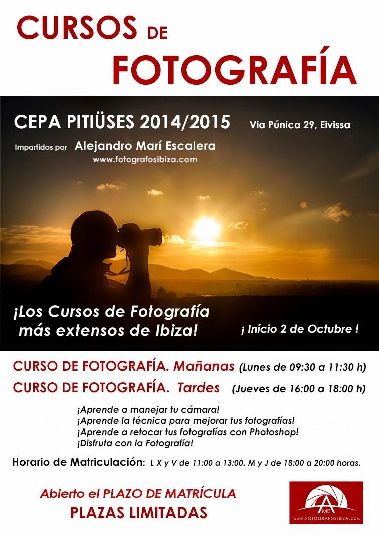 Curso de fotografía en Ibiza y Santa Eualalia del rio