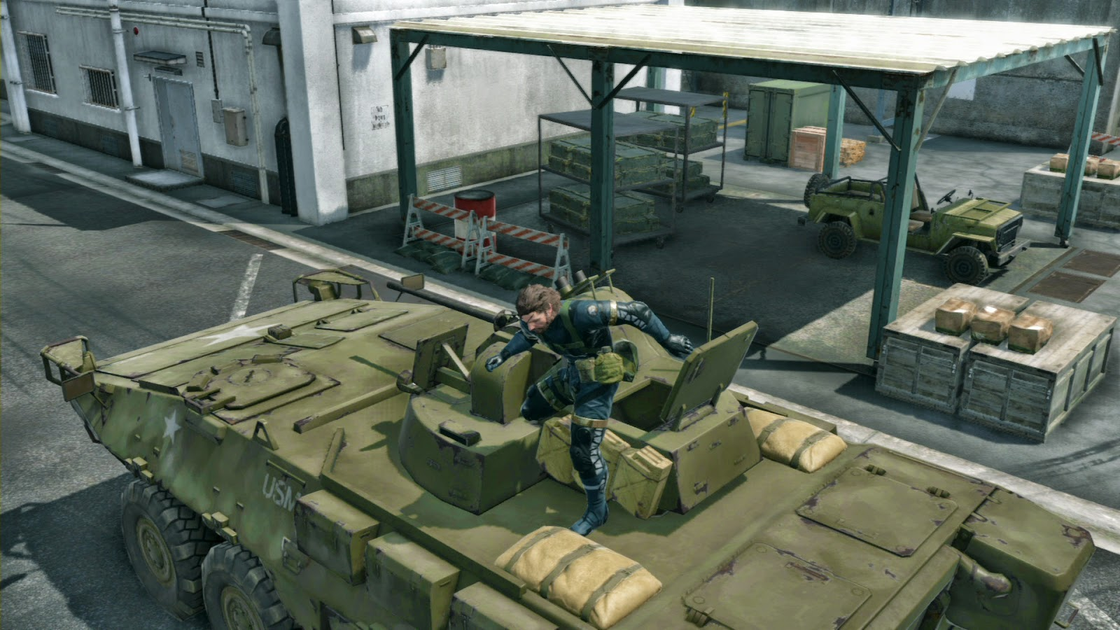 Game Metal Gear Solid V: Ground Zeroes Full Crack CODEX Screenshot by www.jembercyber.blogspot.com