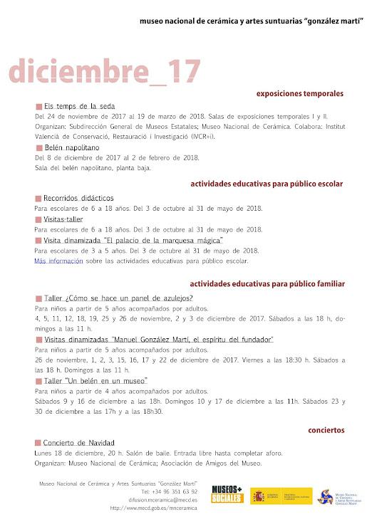 ACV 06 MUSEO GLEZ MARTÍ (01 al 31 de Diciembre 2017)