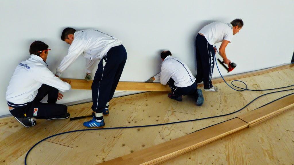 Pavimento sportivo in legno Futsal Arena Chisinau