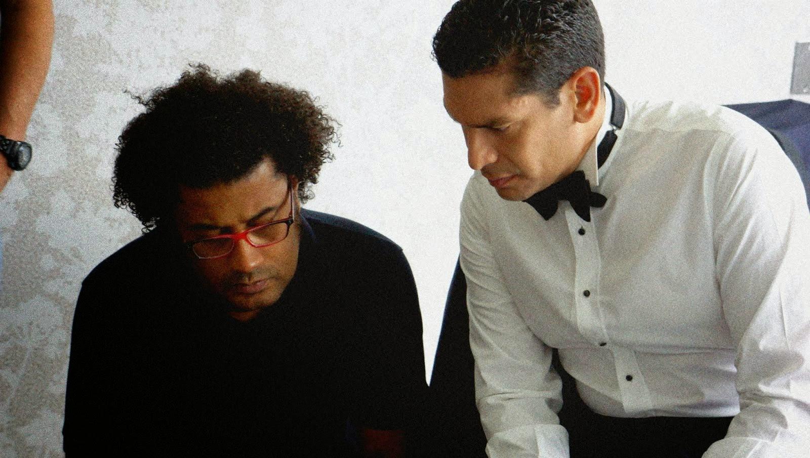 Con Ismael Cala