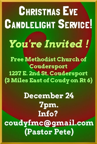 12-24 Christmas Eve CAndlelight Service