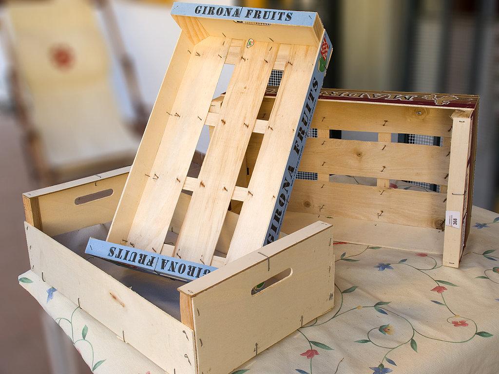 A vueltas con la inspiraci n cajas de fruta recicladas - Cajas de fruta recicladas ...