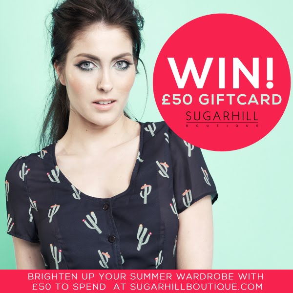Win £50 giftcard to spend at Sugarhillboutique.com