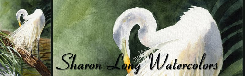 Sharon Long Watercolors, Destin FL