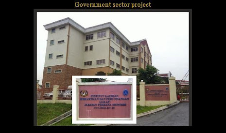 Barrier gate for government project
