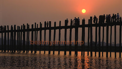 Amarapura and U Bein Bridge