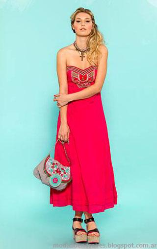 Sophya verano 2014. Vestidos 2014. Moda 2014.