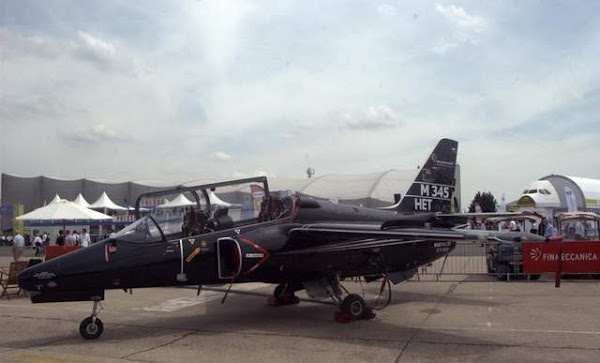 Aermacchi's M-345 High Efficiency Trainer
