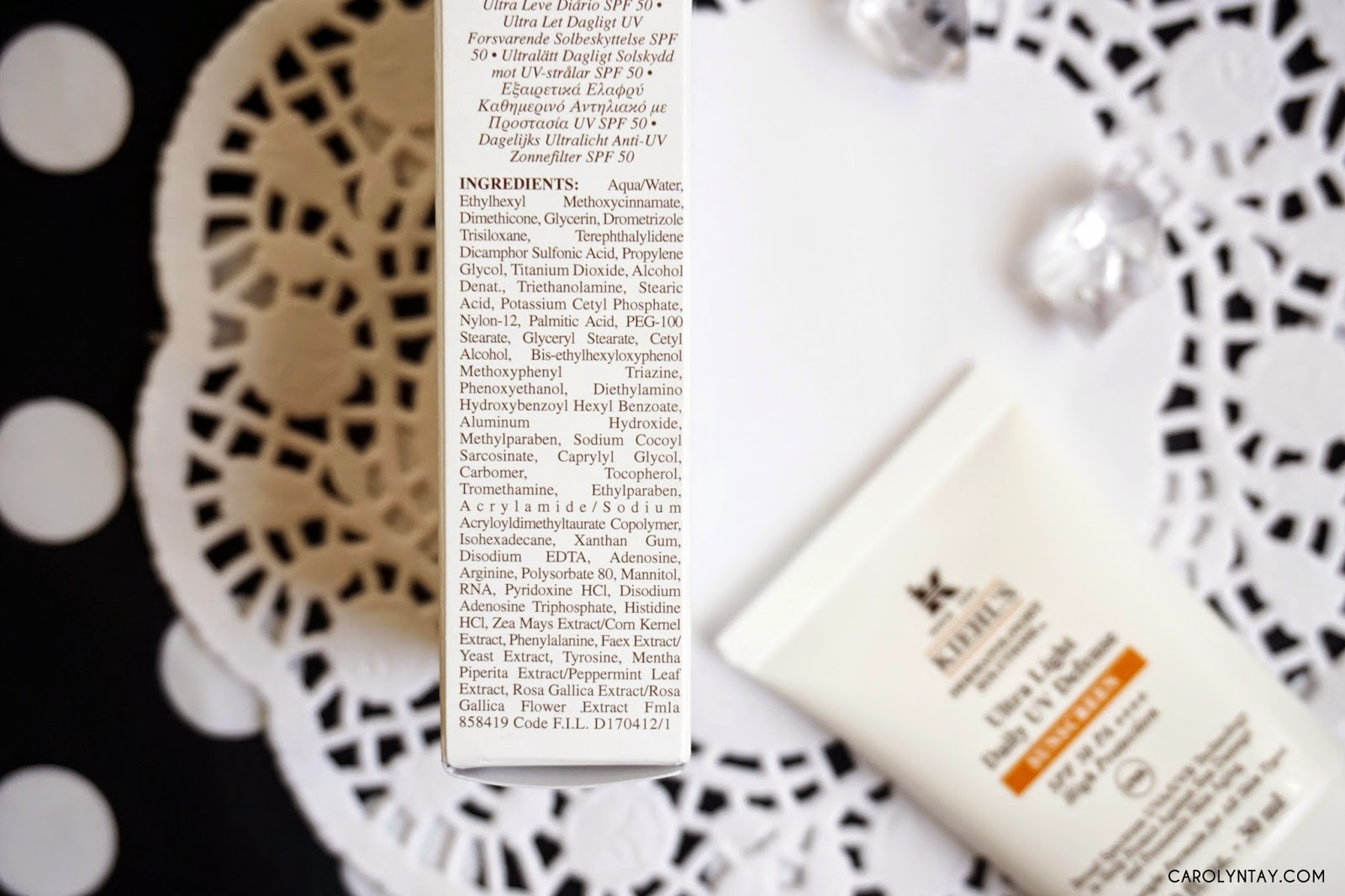 Review New Amp Improved Kiehl S Ultra Light Daily Uv