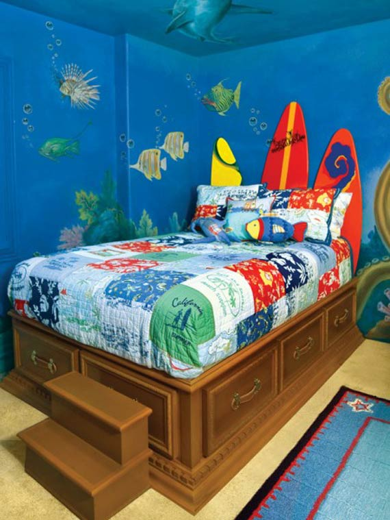 Interior Design Decorating Ideas 10 Kids Room Wall Paint