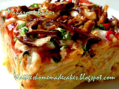 Makaroni Bakar / Baked Macaroni