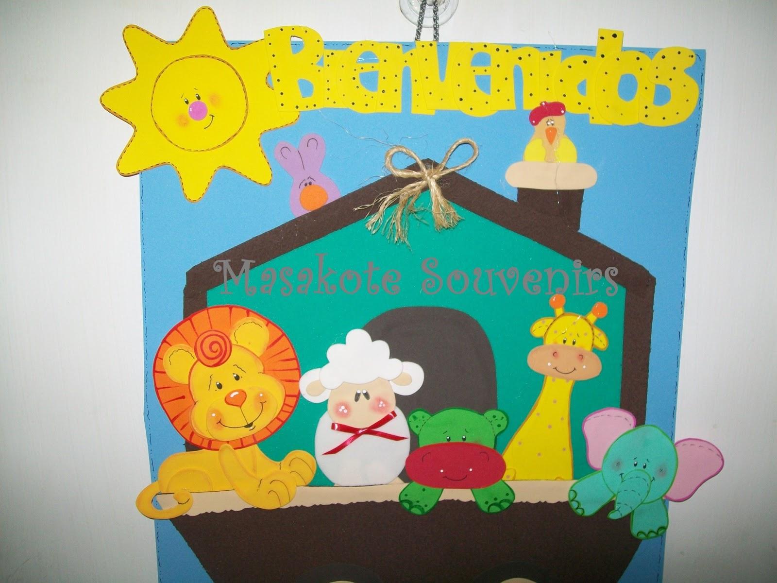 Masakote souvenirs infantiles for Cancion de bienvenida al jardin