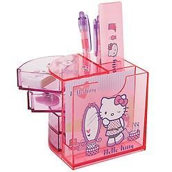 Hello Kitty desk stationary pen holder