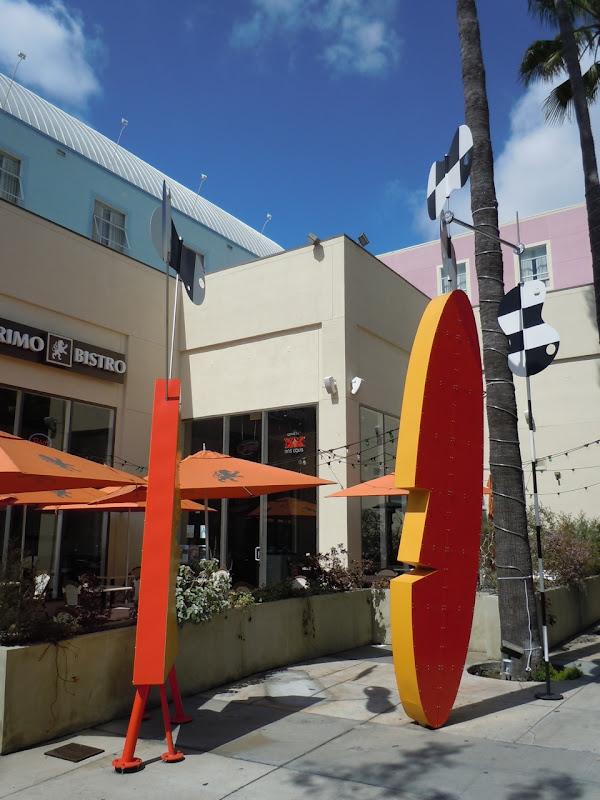 Peter Shire Surfboard Tiki sculpture