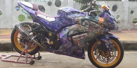 modifikasi Ninja 250 terbaru 2014