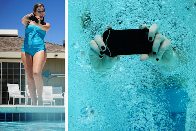 how to take pictures underwater with iPhone?