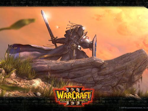 warcraft 3 poster