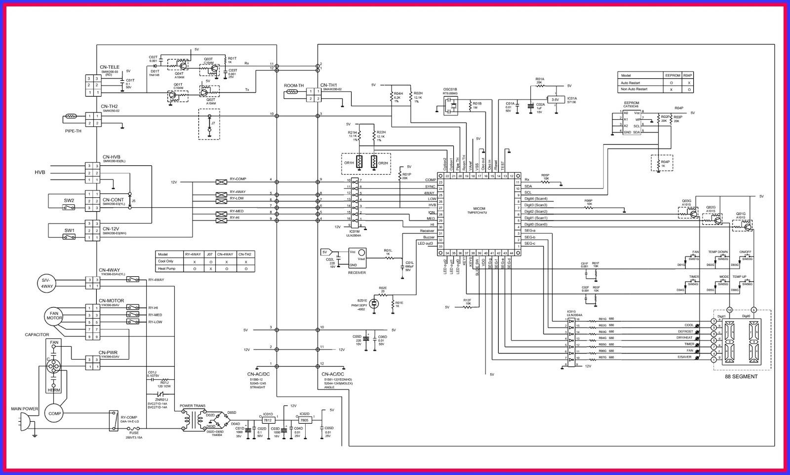 Electronic Equipment Repair Centre Lg Hblg8003r Lb8000er Treadmill Ac Wiring Diagram Circuit