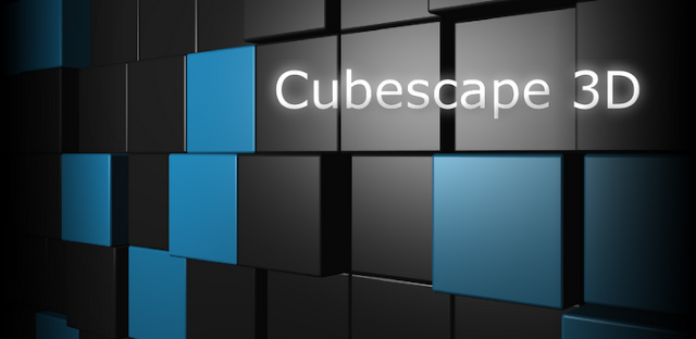 Cubescape 3D Live Wallpaper v1.1.3 APK