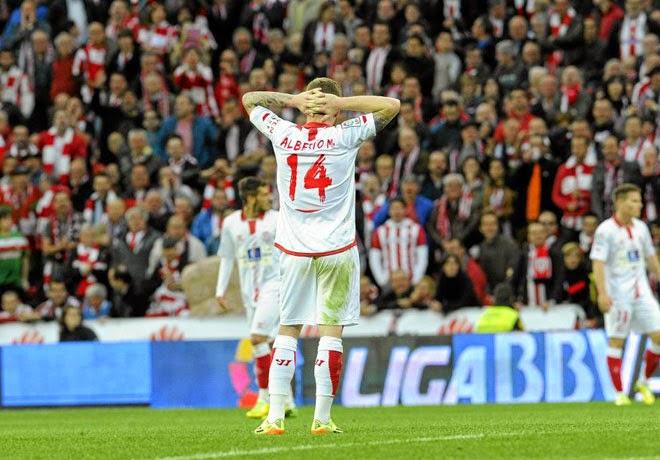 Crónica Athletic Club de Bilbao 3 Vs Sevilla FC 1