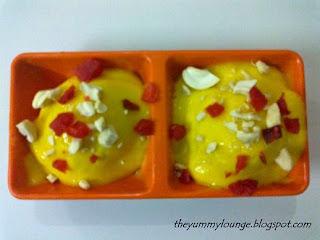 Signature Mango Dessert Recipe Mango Cream Balls