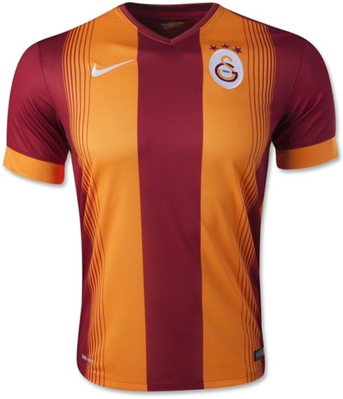 Galatasaray 14-15 Home Soccer Jersey