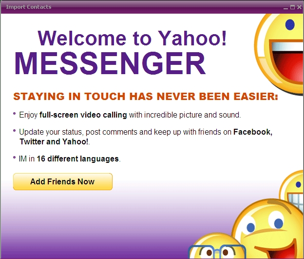 Newest Version Of Yahoo Messenger 10