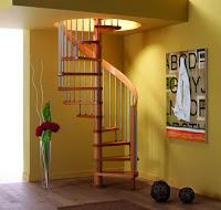 salas con escaleras de caracol