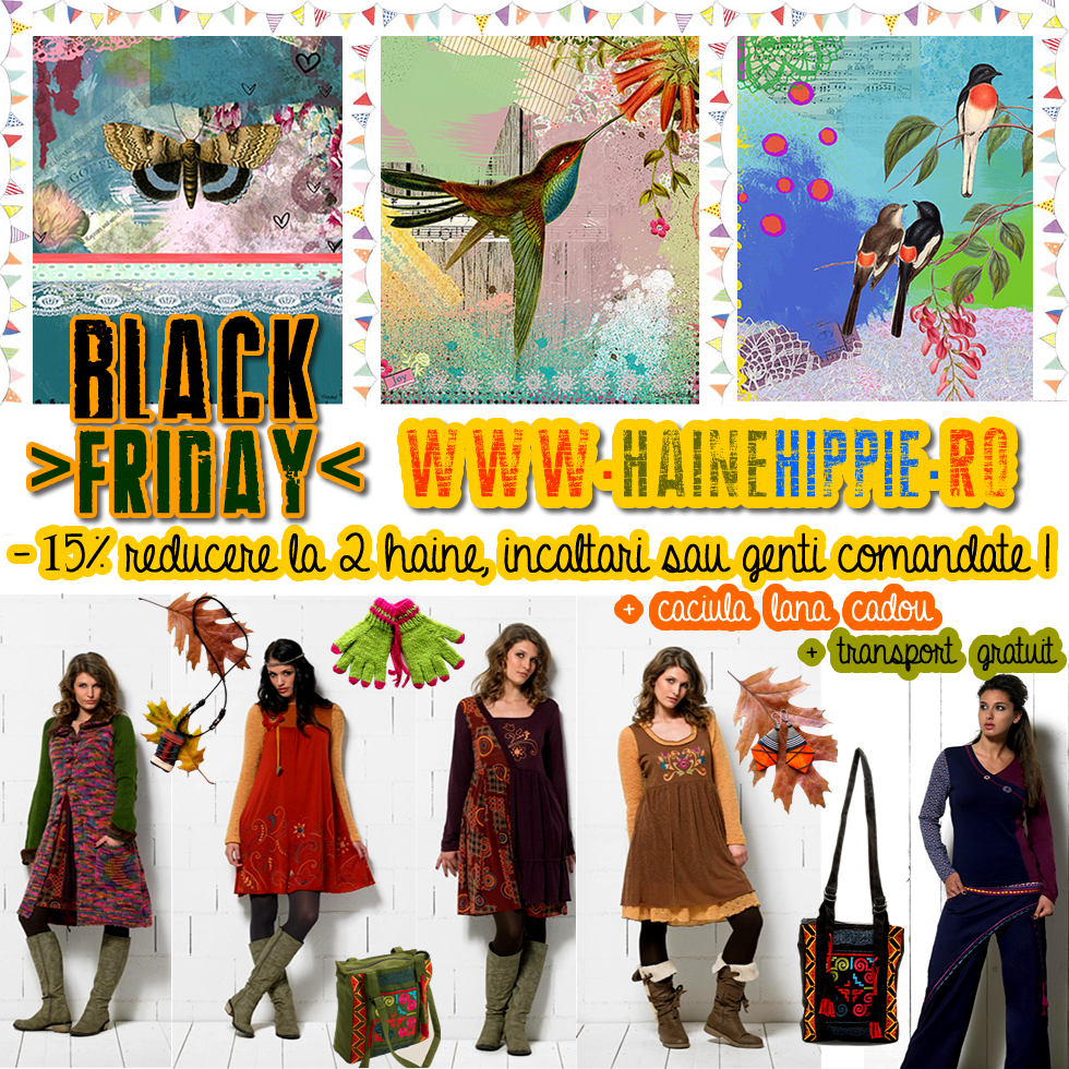 -15% Discount la toate comenzile de Black Friday 21-23 noiembrie!