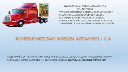 INVERSIONES SAN MIGUEL ARCANGEL I C.A