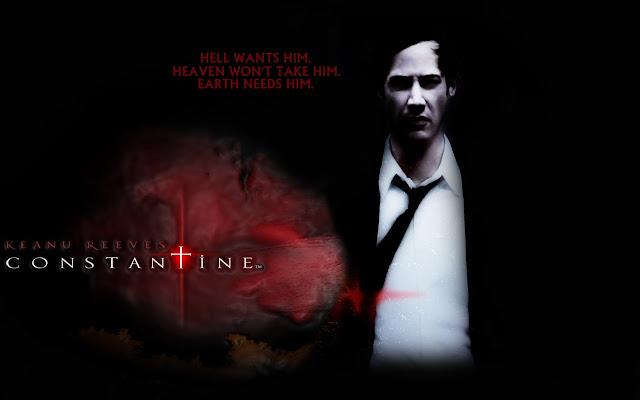 Capa do filme Constantine  Movie