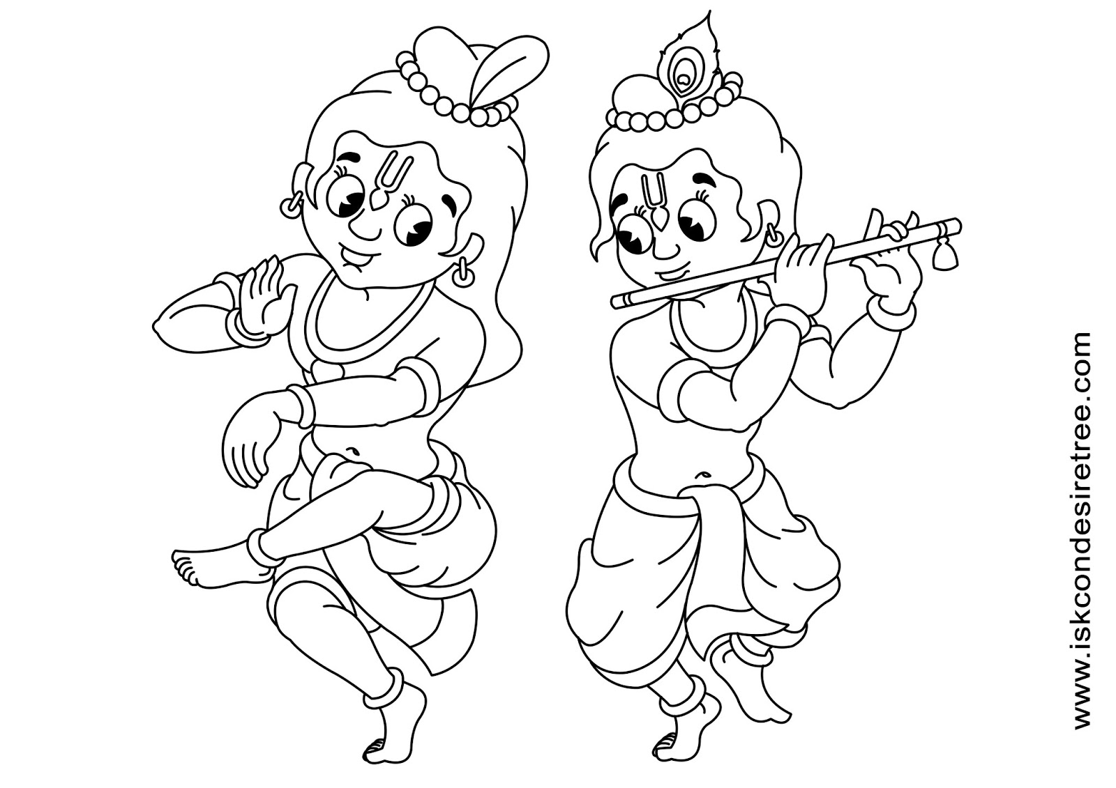 Little krishna coloring pages sketch coloring page for Krishna coloring pages
