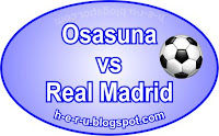 Prediksi Skor Osasuna vs Real Madrid 13 Januari 2013