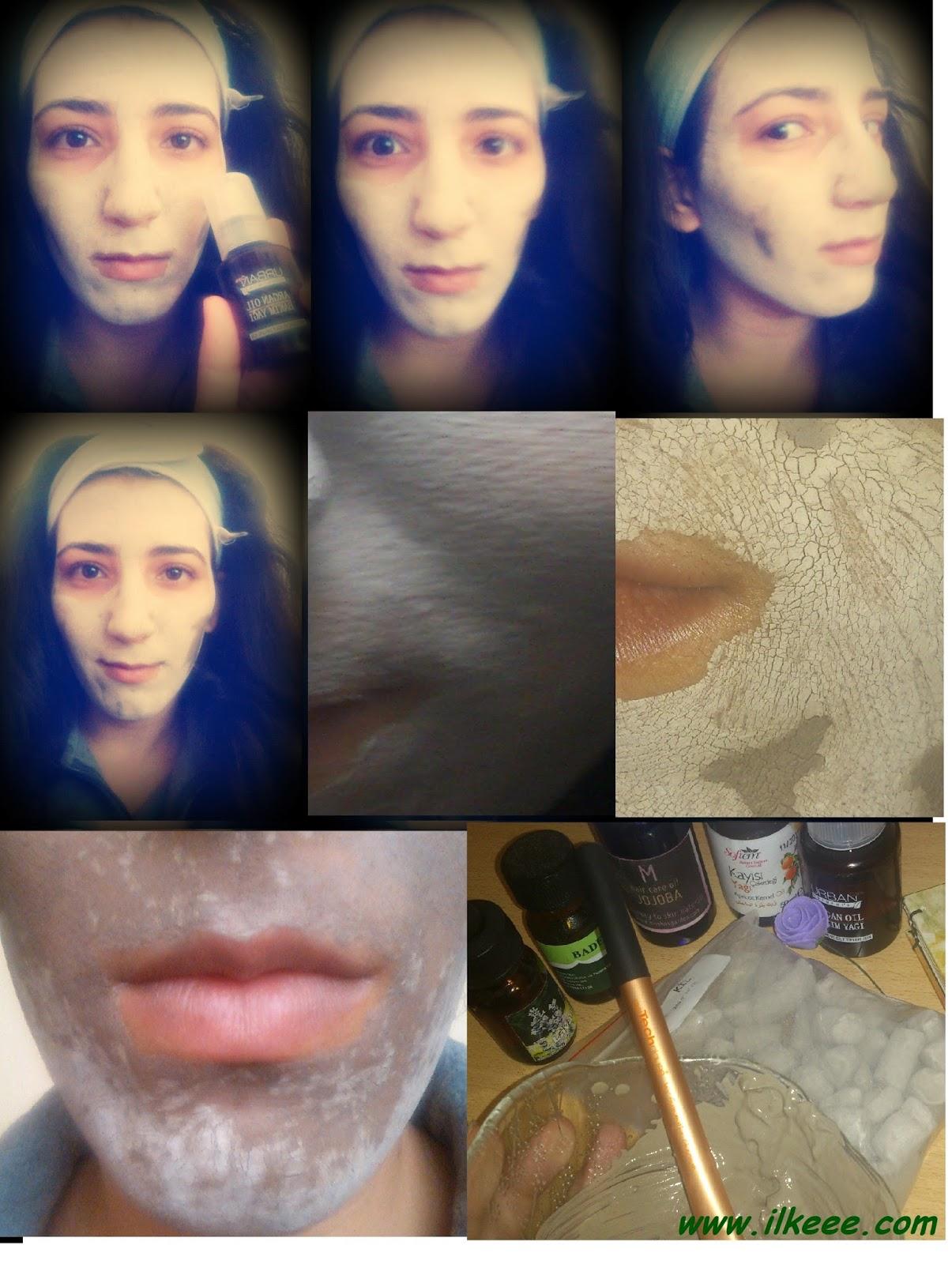 Kil Maskesi - Kil Maskesi Tarifi - Sivilce ve Leke Geçiren Maskeler - Jojoba Yağı - Argan Yağı - Lavanta Yağı - Badem Yağı - Kayısı Yağı - Yağlı Ciltlere Maske - Süt Maskesi - Ölü Deriyi Ciltten Uzaklaştırma Yöntemi