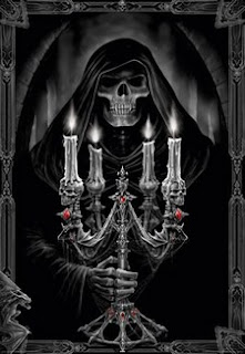 anne stokes image holding a candle  gif