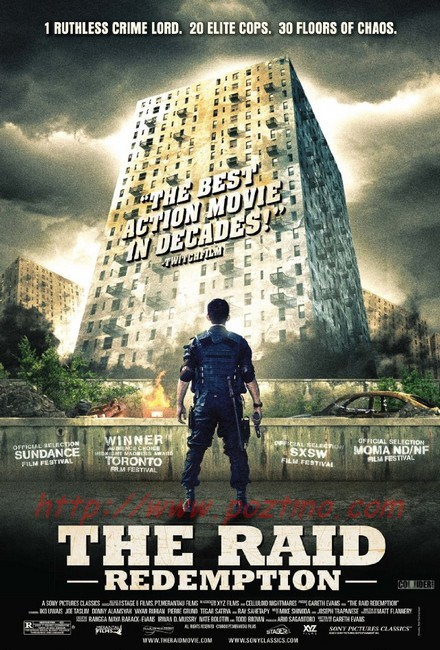 the raid redemption - iko uwais