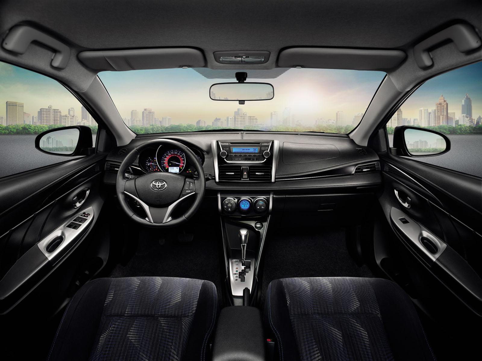 novo Toyota Vios 2014 interior