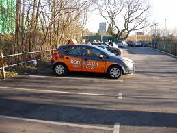 Bay Parking at mill hill test centre