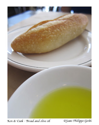 Image of Bread and olive oil at Ken and Cook in Nolita NYC, New York